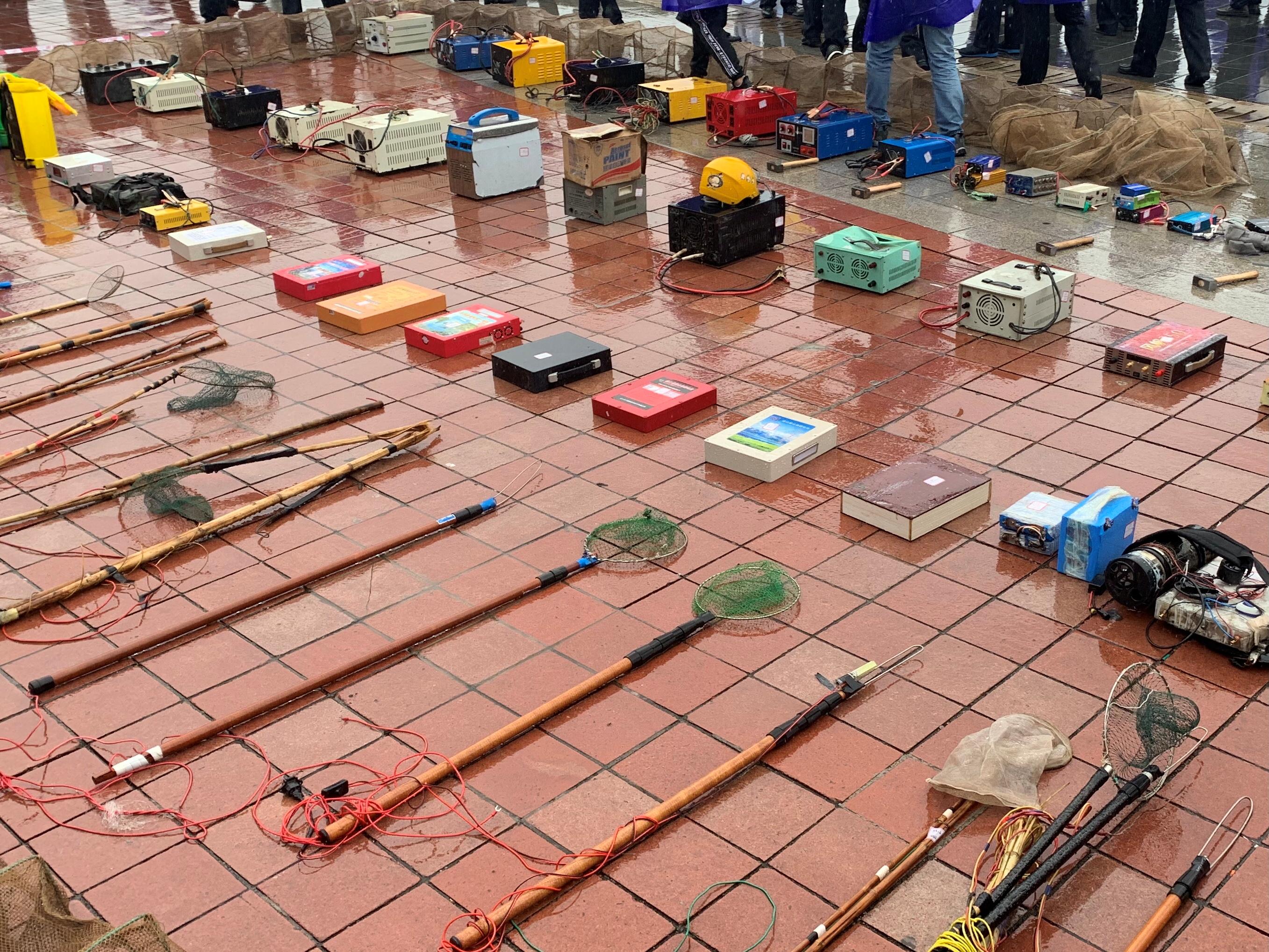 严厉打击非法捕捞行为 切实维护长江禁捕秩序